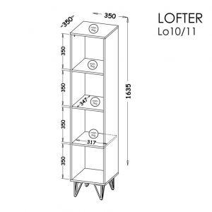 Stelāža Lofter 10