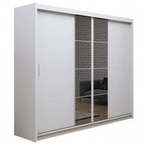 Skapis ar bīdāmām durvīm un spoguli Porto 2-250