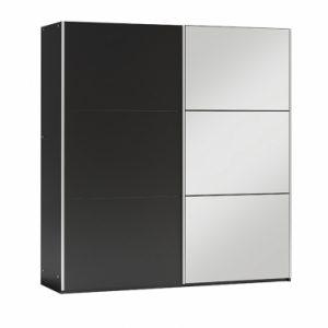 Skapis ar bīdāmām durvīm un spoguli Vigo 120