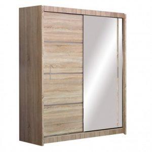 Skapis ar bīdāmām durvīm un spoguli Vista 150