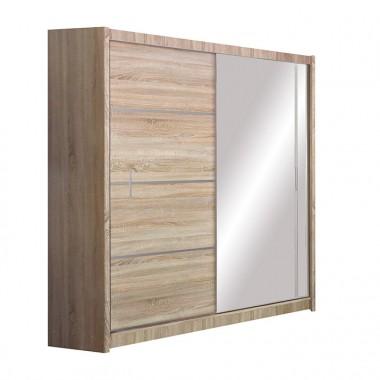 Skapis ar bīdāmām durvīm un spoguli Vista180