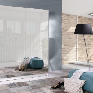 Skapis ar bīdāmām durvīm un spoguli Batumi 6