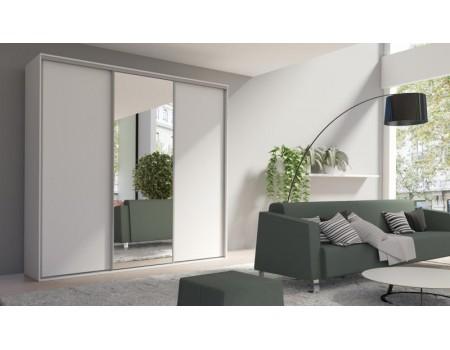 Skapis ar bīdāmām durvīm un spoguli Grande 254