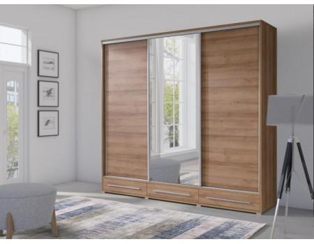 Skapis ar bīdāmām durvīm un spoguli Hajfa