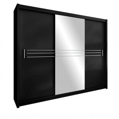 Skapis ar bīdāmām durvīm Hawana 250
