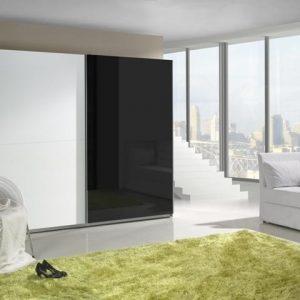 Skapis ar bīdāmām durvīm Lux 9