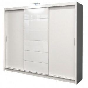 Skapis ar bīdāmām durvīm Malibu 250