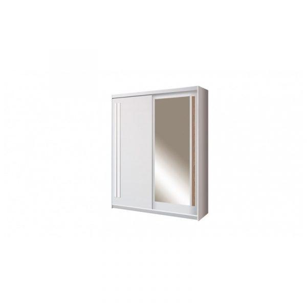 Skapis ar bīdāmām durvīm un spoguli Effect EF-1-175