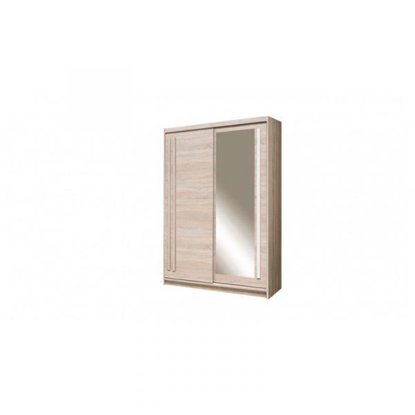 Skapis ar bīdāmām durvīm un spoguli Effect EF-2-150