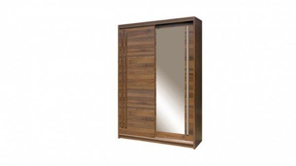 Skapis ar bīdāmām durvīm un spoguli Effect EF-3-150