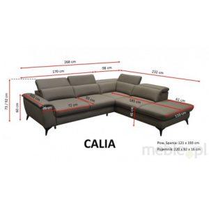 Stūra dīvāns Calia