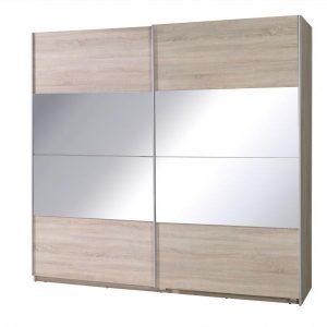 Skapis ar bīdāmām durvīm un spoguli Twister 2