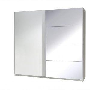 Skapis ar bīdāmām durvīm un spoguli Twister 3